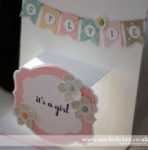 Baby Cards Handmade - handmade baby card using baby we ve grown from stin up