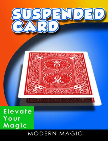 suspending card by modern magic at mjm magic