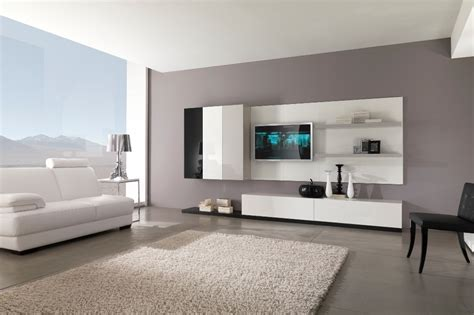 Modern Black And White Furniture For Living Room From Living Room Chair Designs