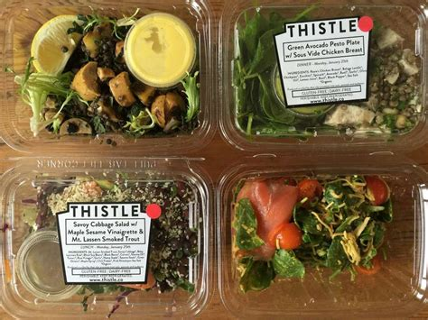 six healthy meal delivery services in the bay area san