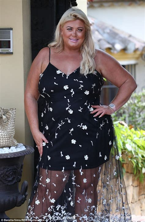 towie s gemma collins covers up in maxi dress in marbella daily mail