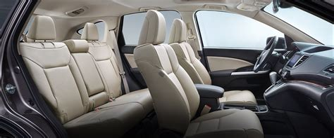 leather trimmed upholstery 2016 honda cr v feature details official site