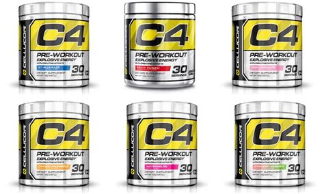 Pre Workout Cellucor C4 Ripped Preworkout Pre Wo 30 Serving cellucor c4 pre workout powder supplement groupon