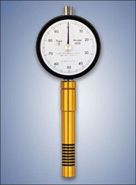 shore  durometer  measure plastic hardness