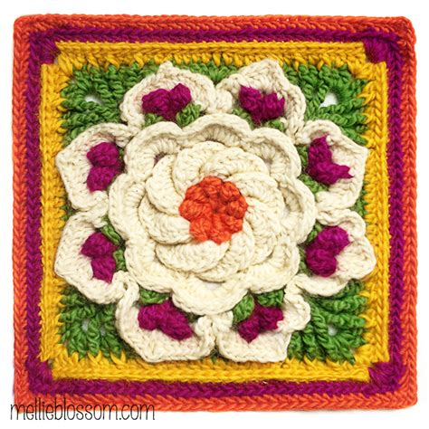 Tropical Delights by Crochet Between Worlds Around The Bases Cal Afghan