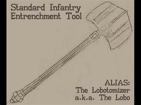 world war z book report the lobo standard infantry entrenchment tool