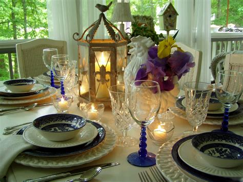 tablescape definition tablescaping with blue willow
