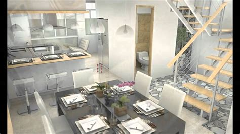 casa moderna interno casa moderna minimalista interior de 3 pisos