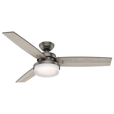 52 inch ceiling fan 59211 sentinel 52 inch 2 led light ceiling fan in