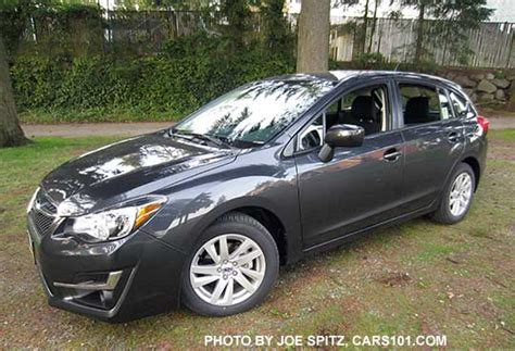 grey subaru impreza 2015 impreza 5 door hatchback exterior photos and images