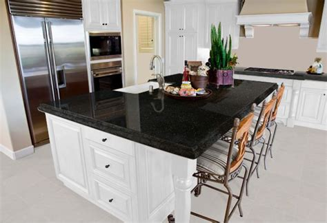 what goes where in kitchen cabinets what color granite goes with white cabinets