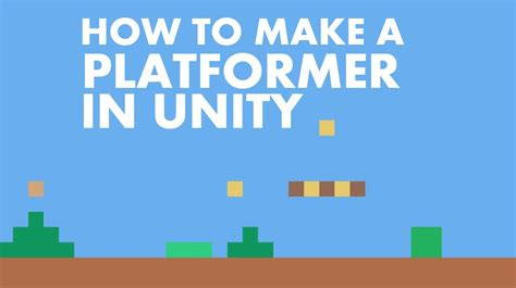 tutorial unity platform game 1 how to make a platformer in unity 5 setting up the