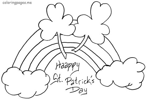 free coloring pages of st patricks day