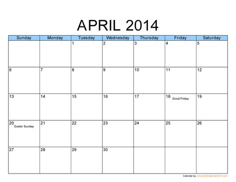 free calendar template 2014 great printable calendars