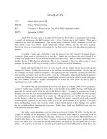 Open Essay Exles by Fall 2009 Open Memo Assignment Arkansas Ai Donor Parental R