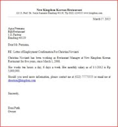 Confirmation Letter Meaning In Confirmation Letter Sle Business Letter Sles Englet