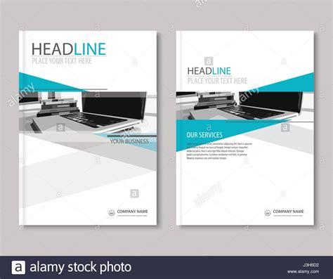 annual report brochure flyer design template company