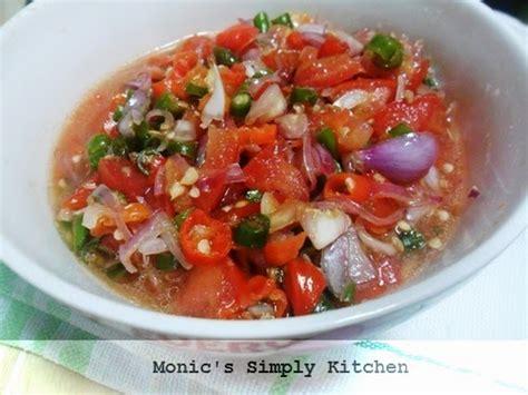 cara membuat ayam sambal matah terong dengan sambal matah monic s simply kitchen