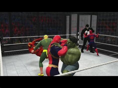 regarder venom 2018 gratuitement en vostf wwe 2k14 spiderman vs deadpool vs hulk vs flash vs iron