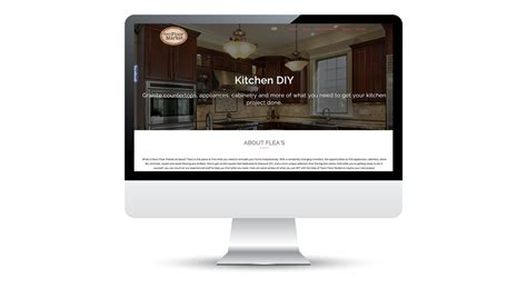 floor and decor website website design by pop dot marketing agency in wi flea s