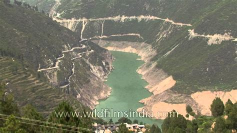 Before The tehri dam as seen before the floods
