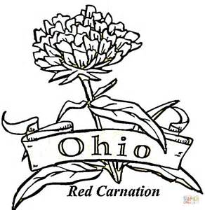 ohio state coloring pages state of ohio coloring