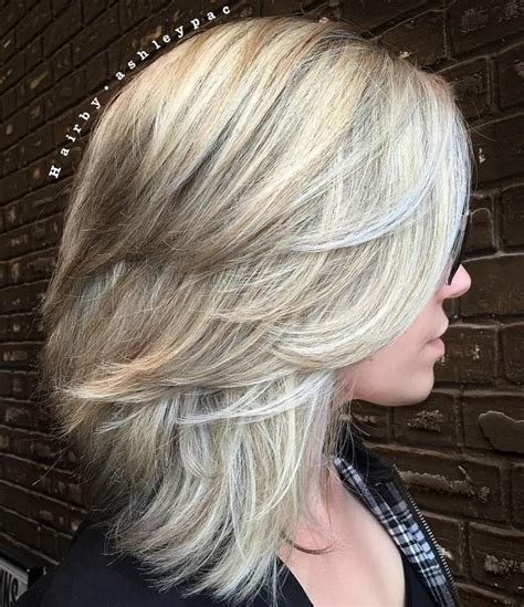 Layered Medium Hairstyles For Hair by 37 Medium Haircuts To Fuel Your Imagination