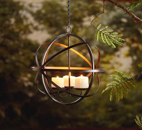 Outdoor Light Spheres Garden Oasis Candle Sphere Chandelier Outdoor Living Outdoor Lighting Decorative Lighting