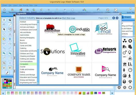 logo creator software tech crome logosmartz logo maker 10 version free with and keygen