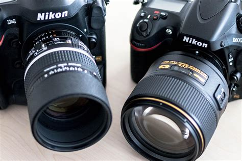 nikon nikkor af s 105mm f 1 4e ed vs dc nikkor af 105mm f