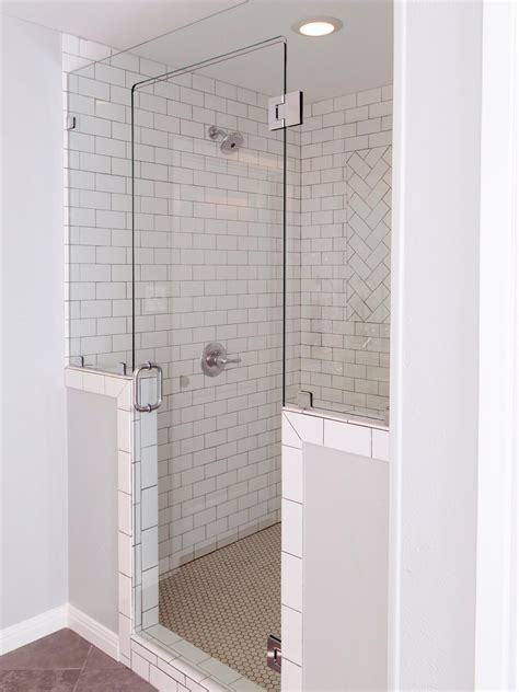 white subway tile is an unexpected touch to this white