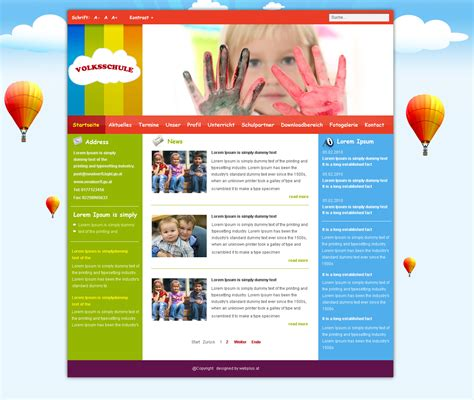 templates for joomla school joomla template by think360studio on deviantart