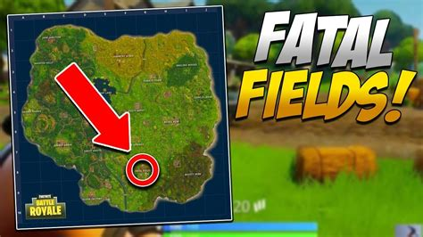 fatal fields location invasion  fortnite battle