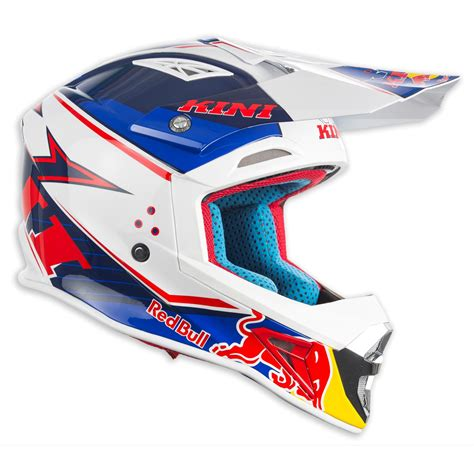 kini motocross gear kini red bull helmet competition navy white 2017 maciag