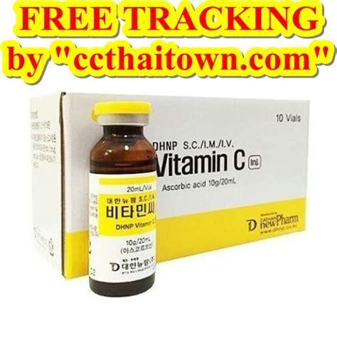Korean Vitamin C Injection vitamin c dhnp 10000 mg korea http www ccthaitown