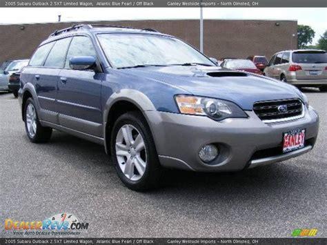 2005 subaru outback 2 5xt 2005 subaru outback 2 5xt limited wagon atlantic blue
