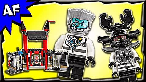 Lego Ninjago 70591 lego ninjago kryptarium prison breakout 70591 stop motion build review