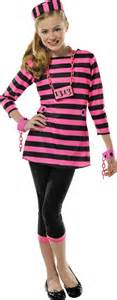 Prisoner Costume Girls Miss Behaved Prisoner Costume Party City Halloween Pinterest Costumes And