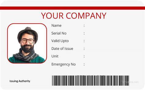 id card template ai 40 blank id card templates psd ai vector eps doc