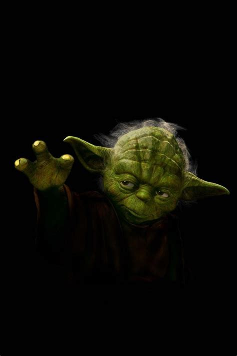 Wallpaper Iphone 6 Yoda | star wars jedi yoda gesture iphone 4 wallpaper and iphone