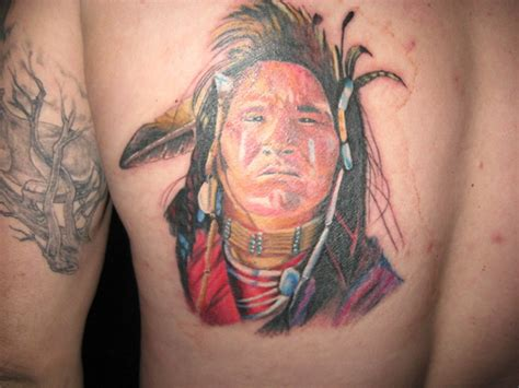 mohawk indian tribal tattoos mohawk indian tattoos