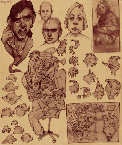 sketchbook of loish sketch page 2 random by loish on deviantart