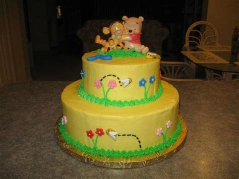 Winnie The Pooh Baby Shower Cake Ideas by Winnie The Pooh Cakes Decoration Ideas Birthday