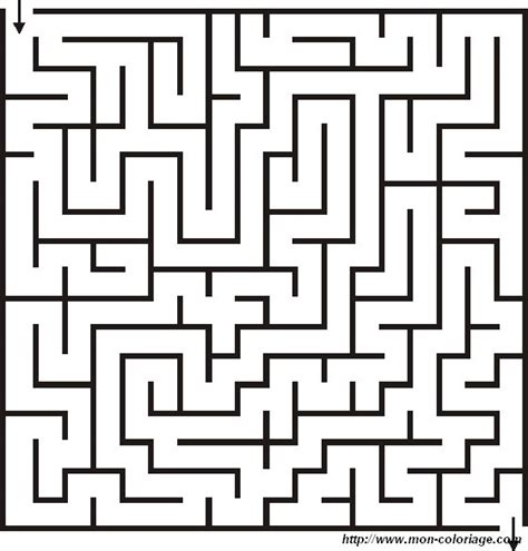 Labyrinth Outline by Coloring Maze And Labyrinth Page Coloring Labyrinth