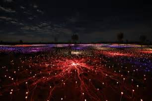 australian lights this field of light grows in the australian desert pbs