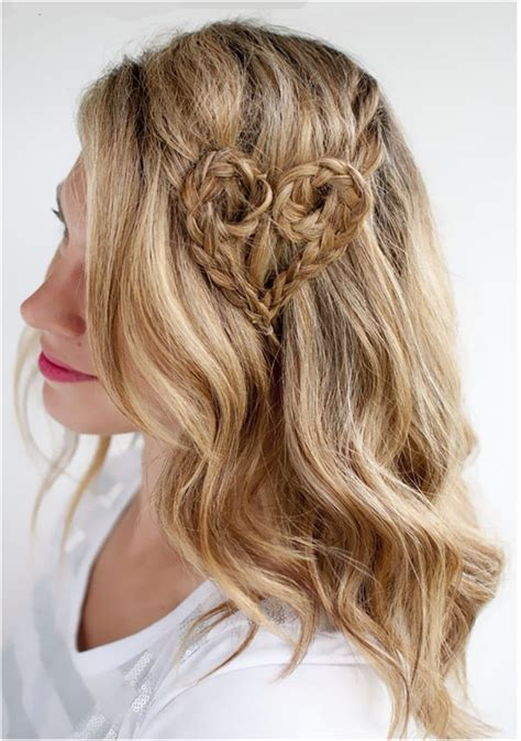 hair styles made into hearts top 10 valentine heart shaped hairstyles top inspired