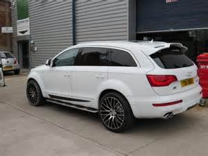 audi q7 with abt kit and calibre altus 22 quot alloy
