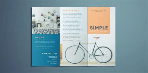 Simple Tri Fold Brochure Free Indesign Template Free Simple Brochure Templates