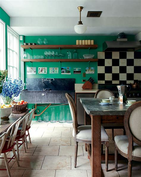 Green And Black Interior Design by Green And Black Kitchen Decosee
