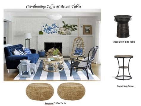 Livingroom End Tables How To Coordinate Coffee Amp Accent Tables Like A Designer